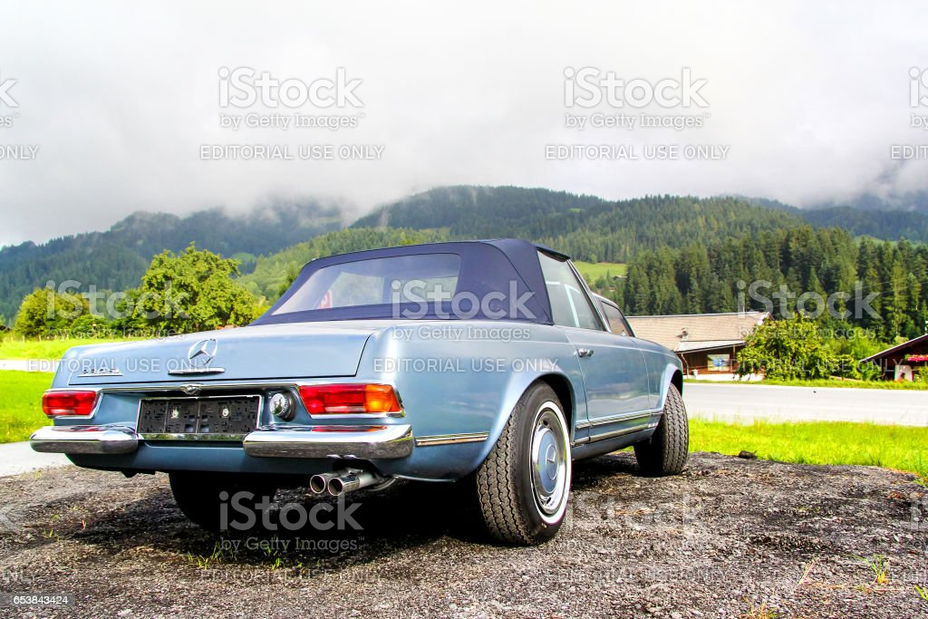 Mercedes-Benz W113 230SL stock photo