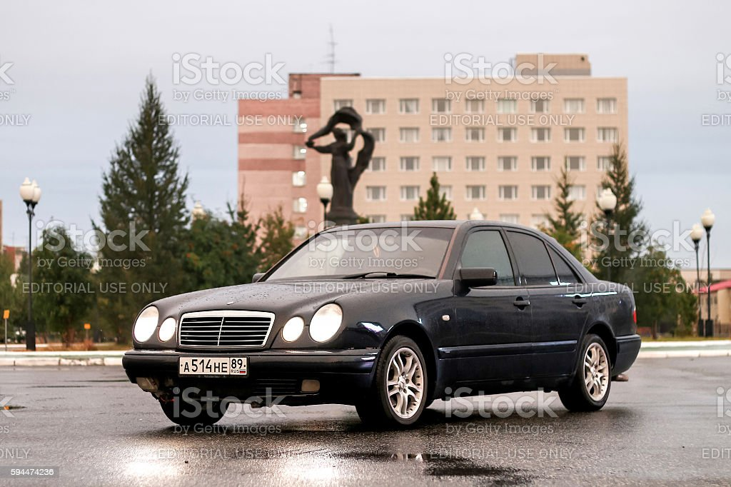 Mercedes-Benz W210 E240 stock photo