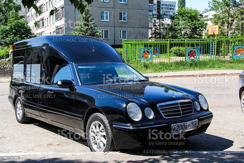 Mercedes-Benz W210 E-class stock photo
