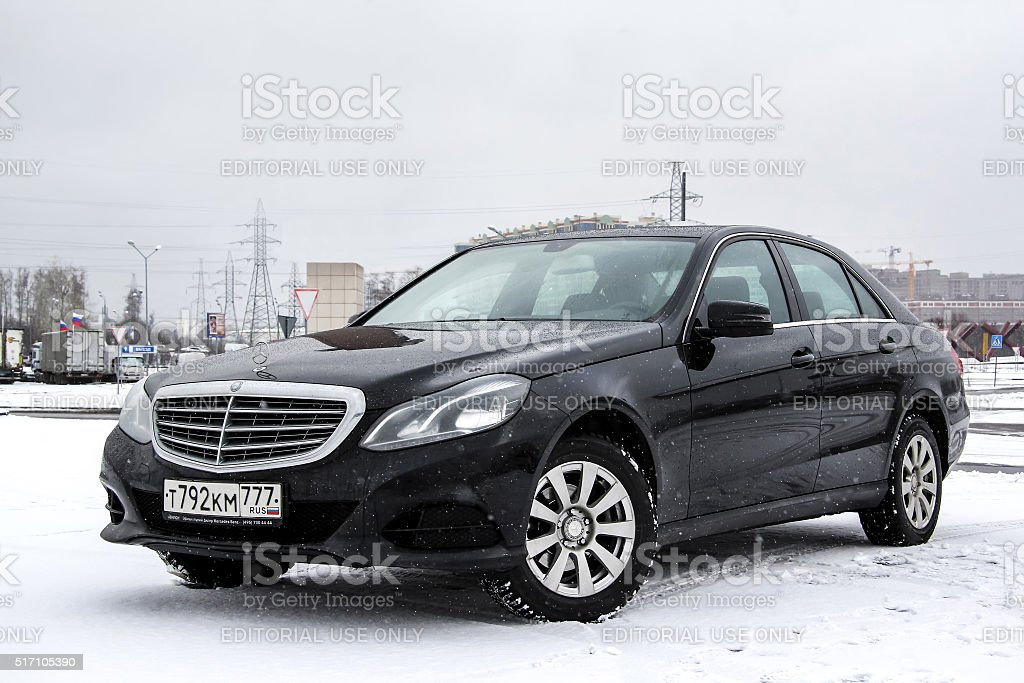 Mercedes-Benz W212 E200 stock photo