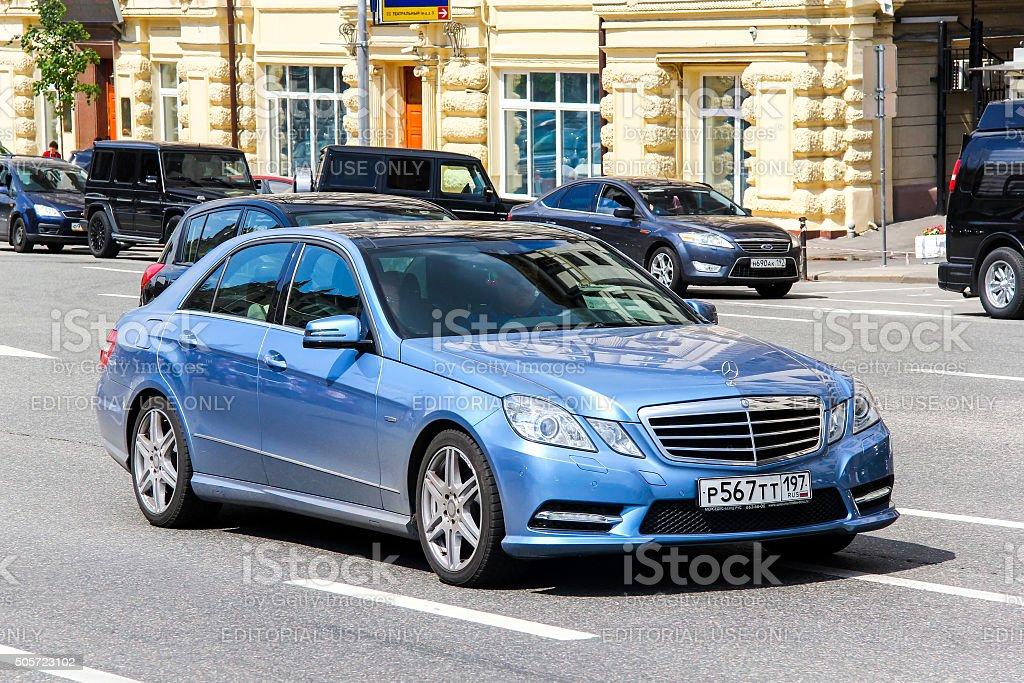 Mercedes-Benz W212 E-class stock photo
