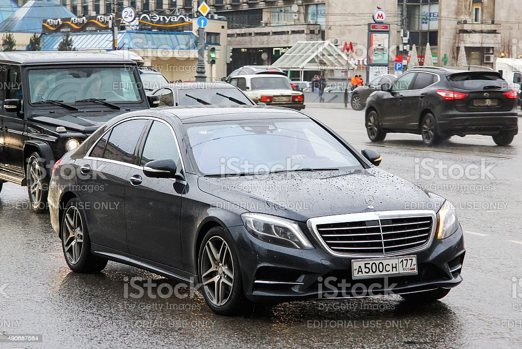 Mercedes-Benz W222 S-class stock photo