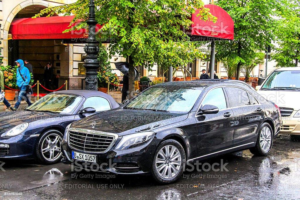 Mercedes-Benz W222 S-class stock photo