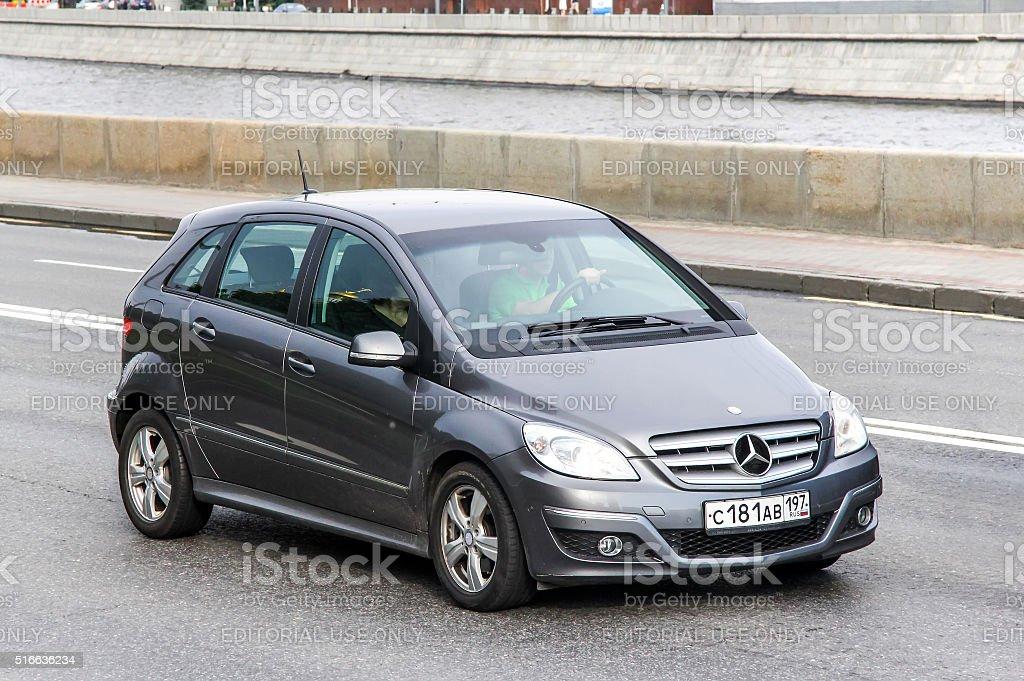 Mercedes-Benz W245 B-class stock photo