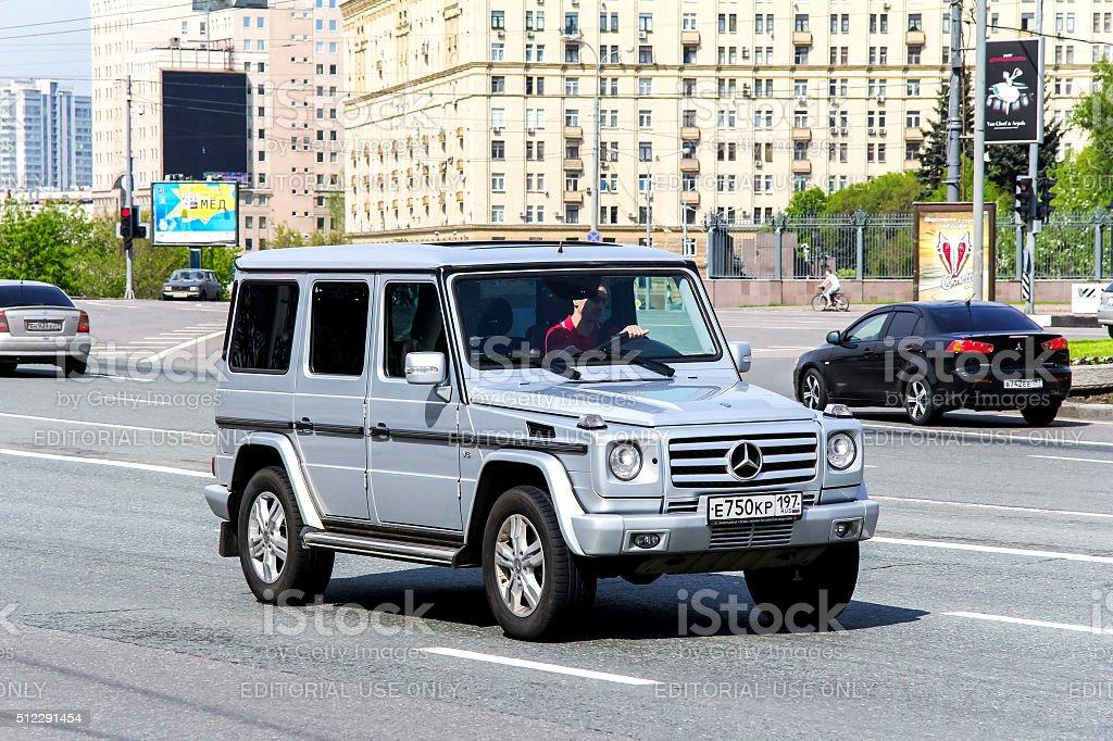 Mercedes-Benz W463 G-class stock photo