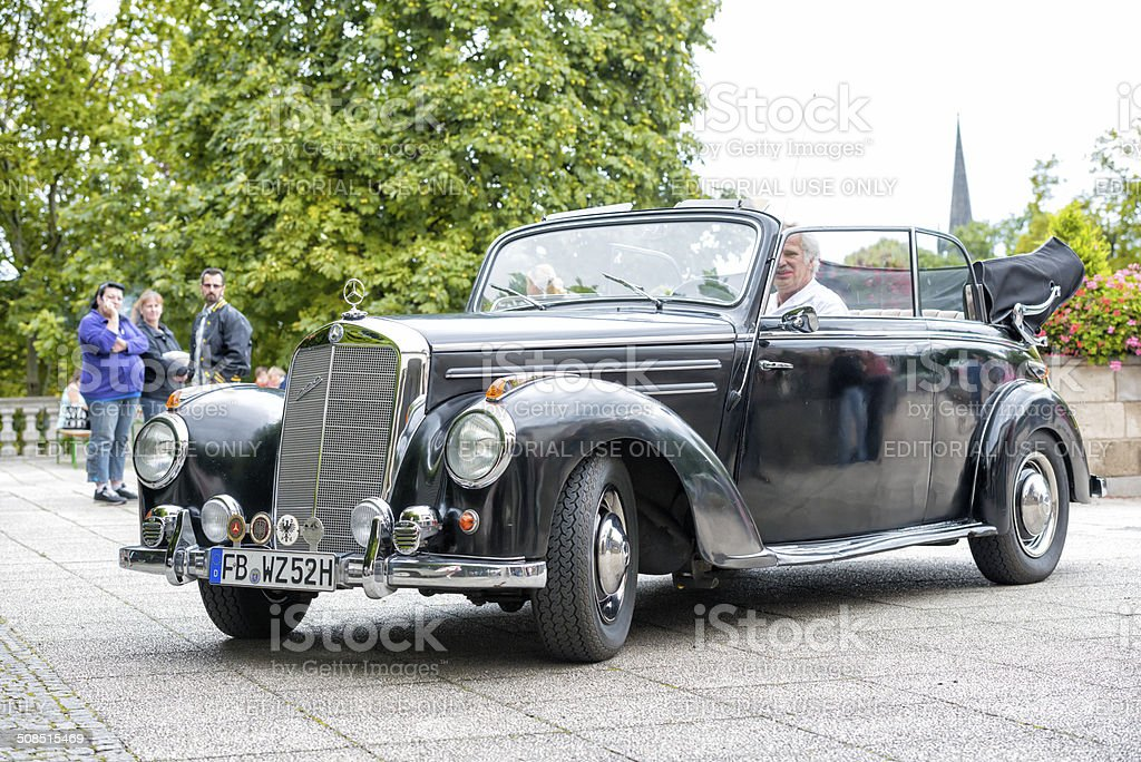 Merceds 220 S Roadster (W186) from 1952 royalty-free stock photo