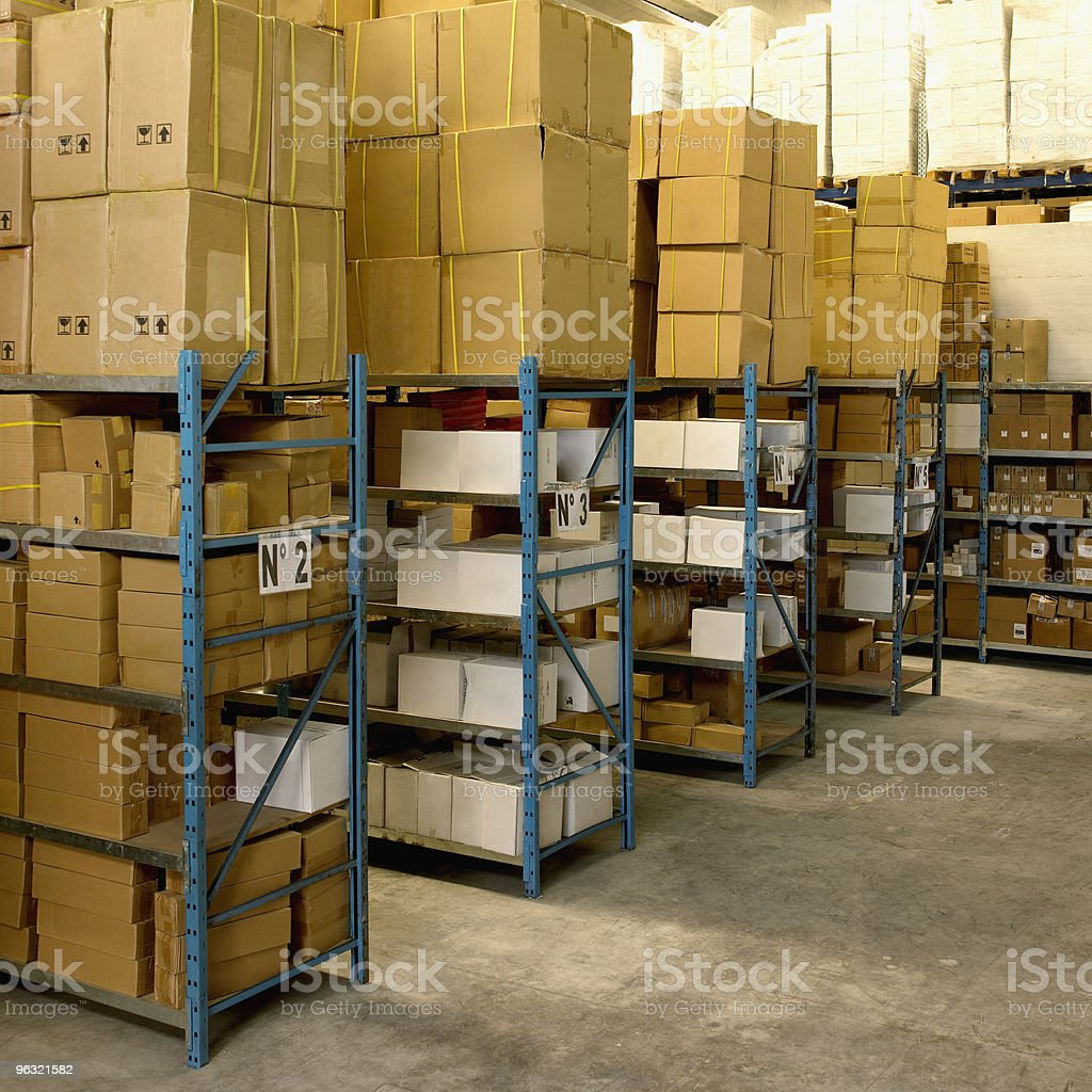 Merchandise Stocking stock photo