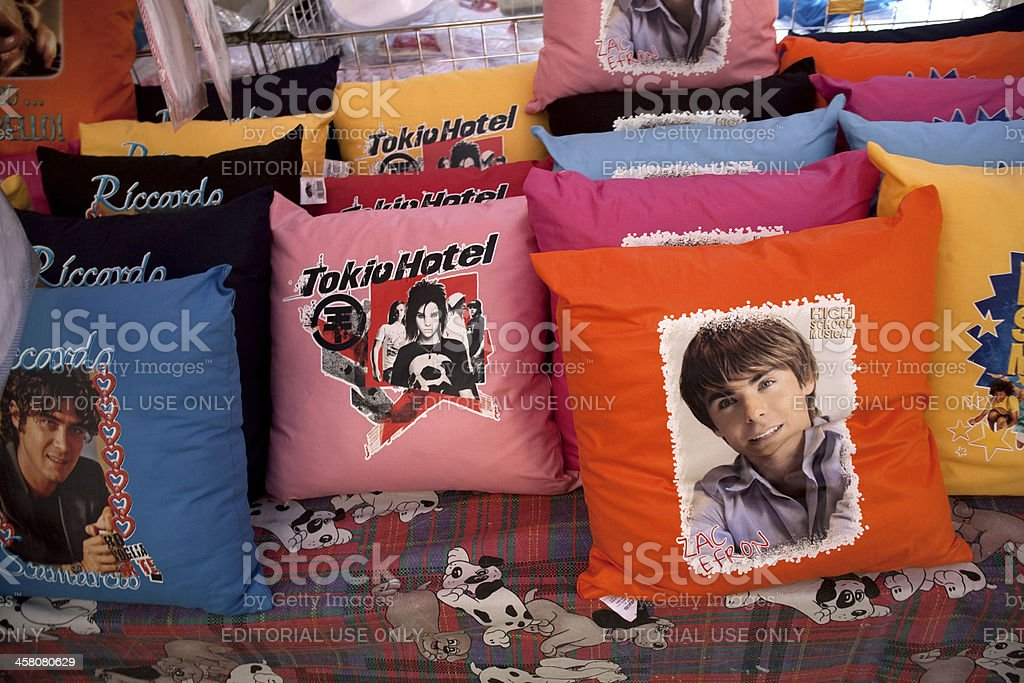 Merchandising for teens royalty-free stock photo