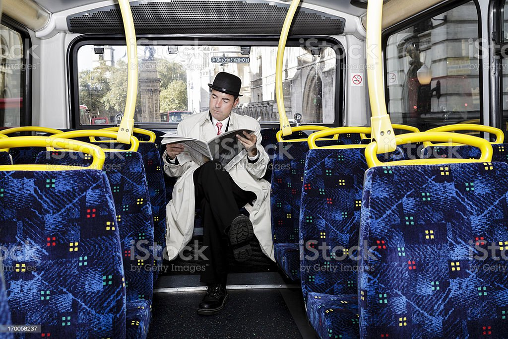 Merchant in London royalty-free stock photo