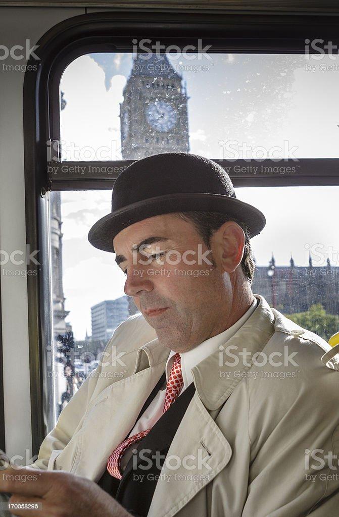 Merchant in London royalty-free stock photo