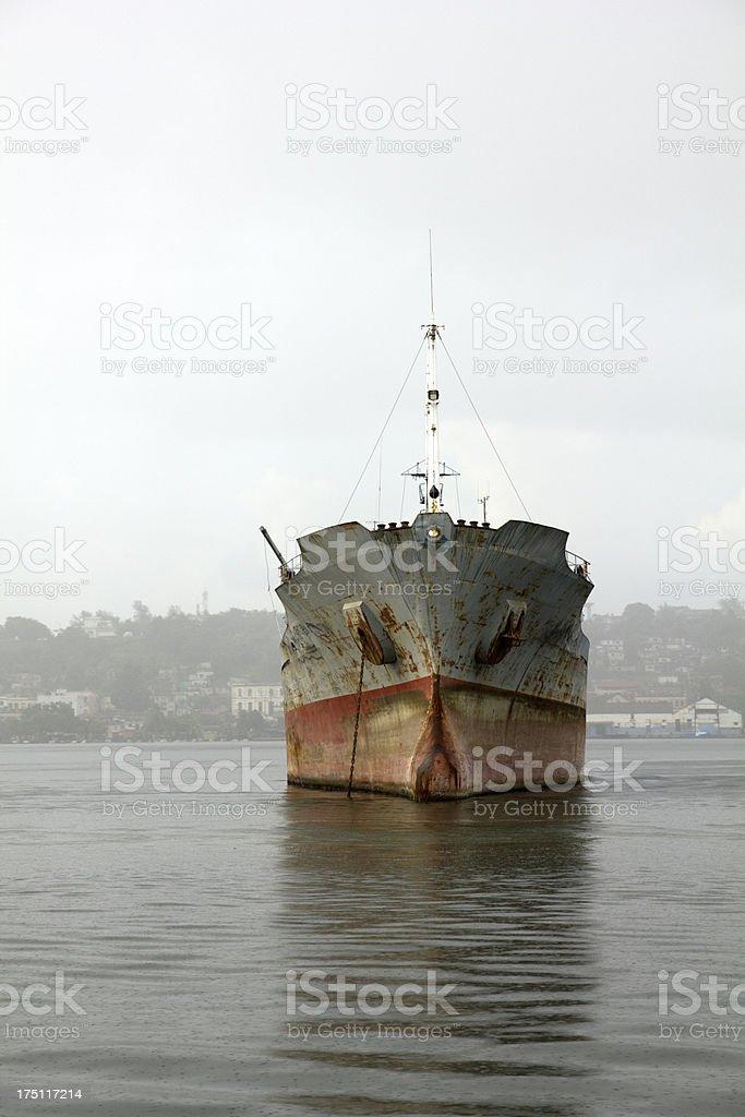 Merchant ship royalty-free stock photo