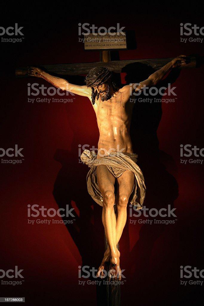 Merciful Christ stock photo