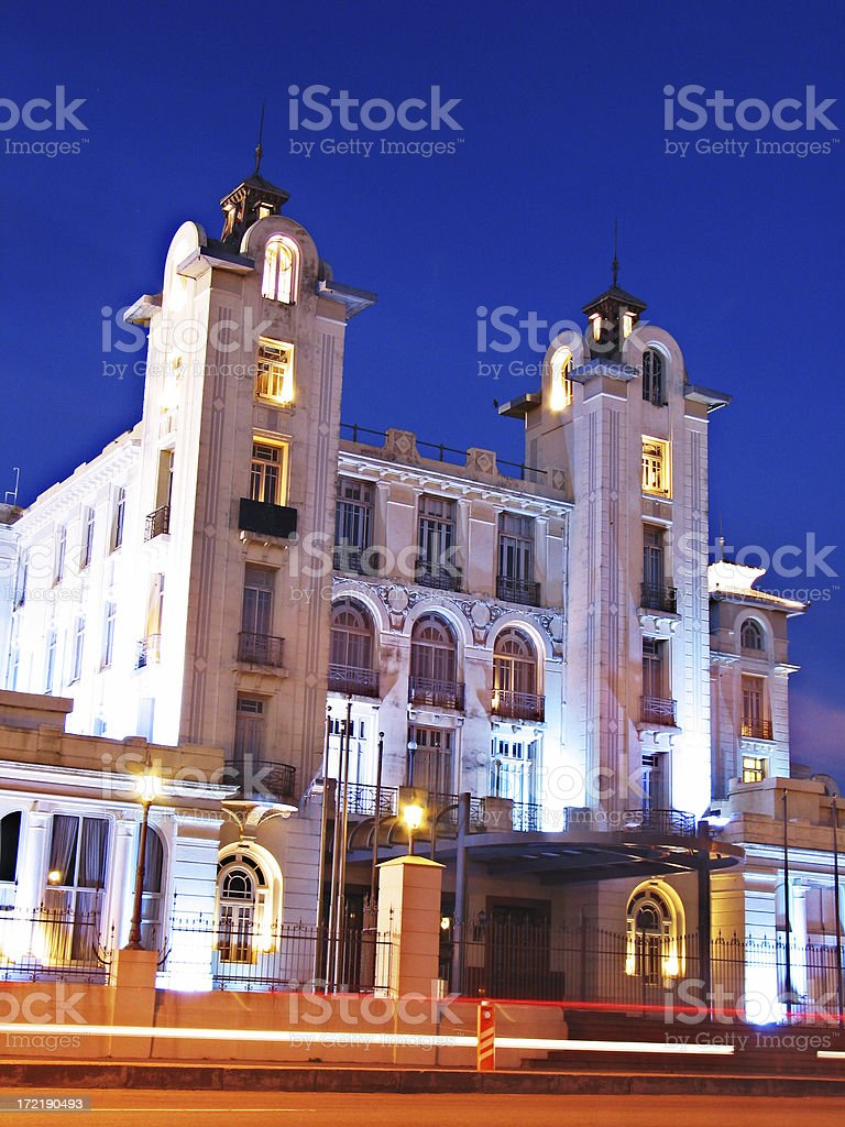 Mercosur Headquarters - Entrance stock photo