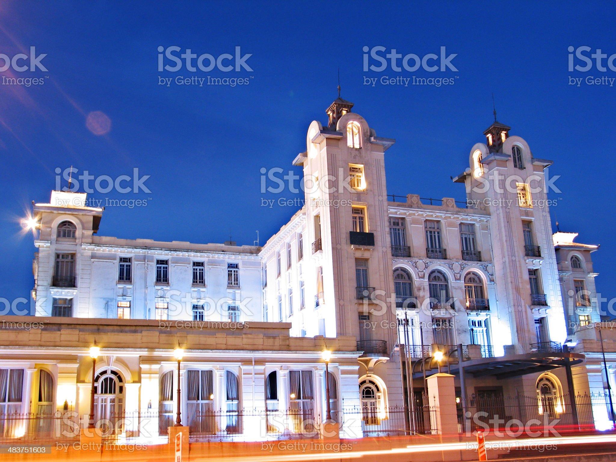 Mercosur Headquarters royalty-free stock photo
