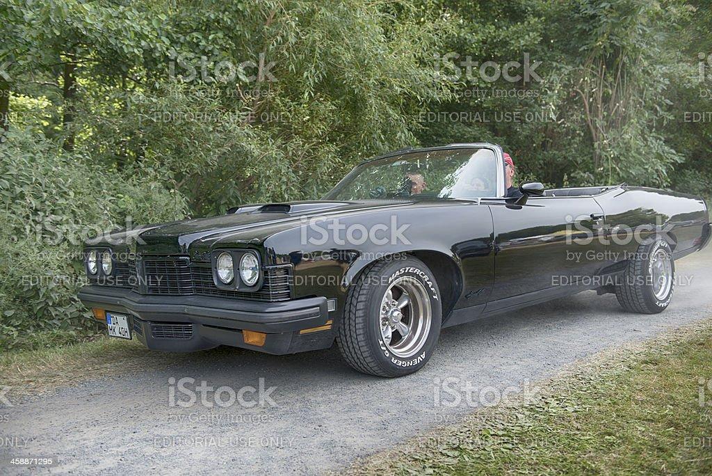 Mercury Cougar GrandVille Convertible stock photo