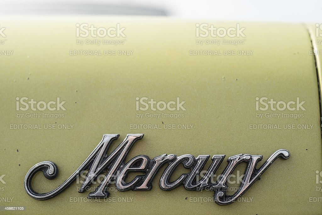 Mercury royalty-free stock photo