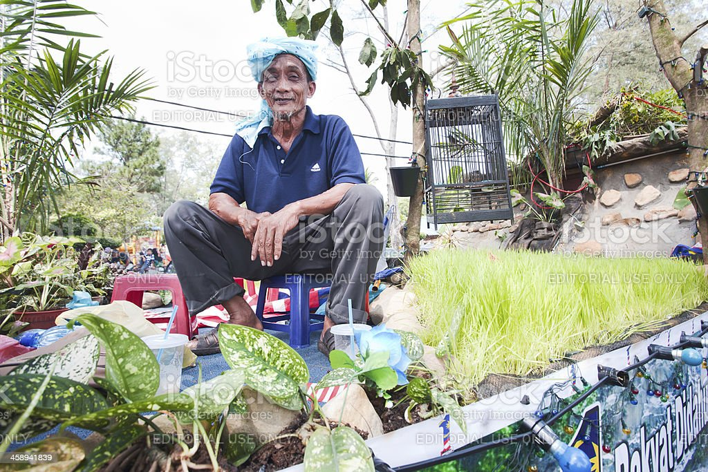 Merdeka Raya at Kuala Besut. royalty-free stock photo
