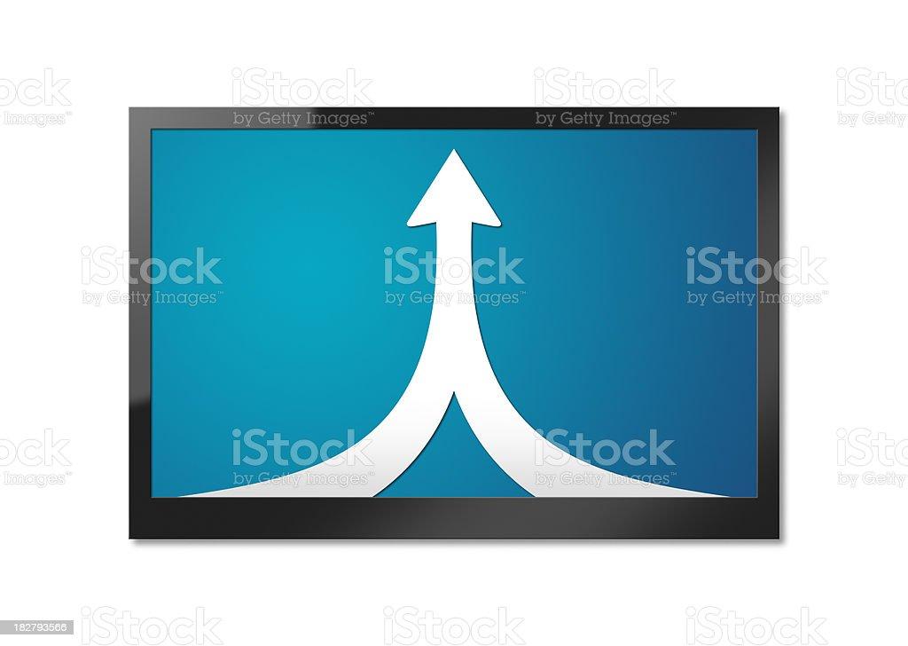 Merging Tech stock photo