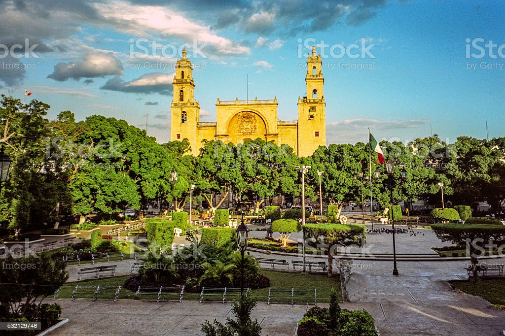 Merida Zocalo stock photo