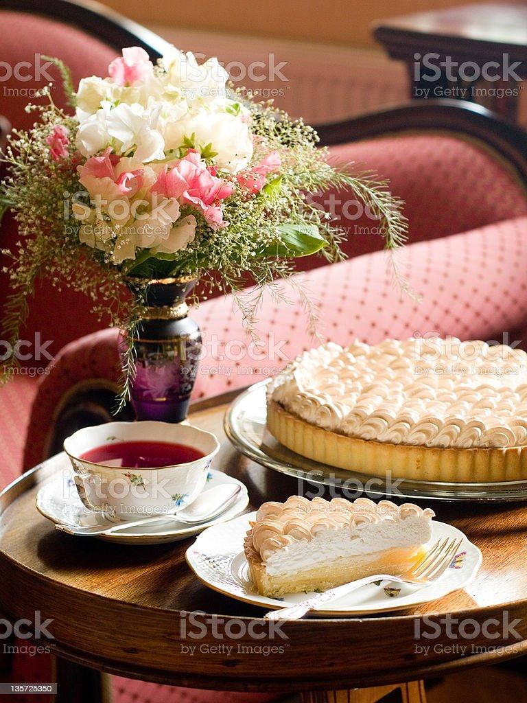 meringue pie royalty-free stock photo