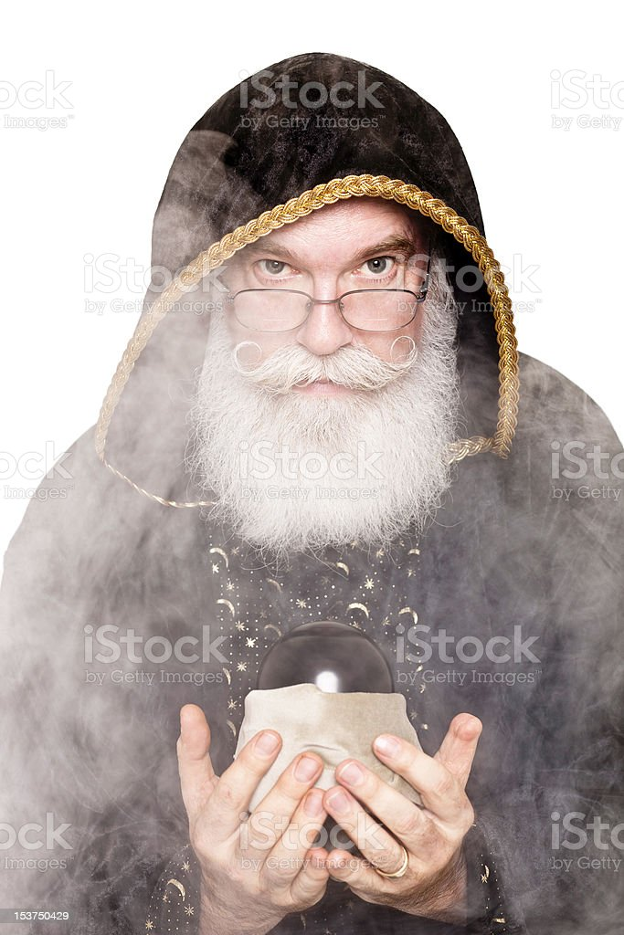 Merlin forbodes stock photo
