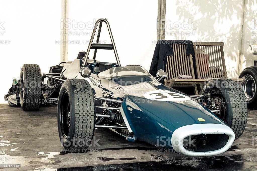 Merlin MK11 A Formula Ford classic racing car stock photo