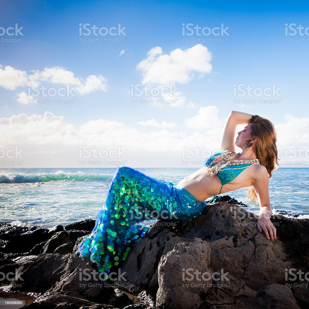 Mermaid royalty-free stock photo
