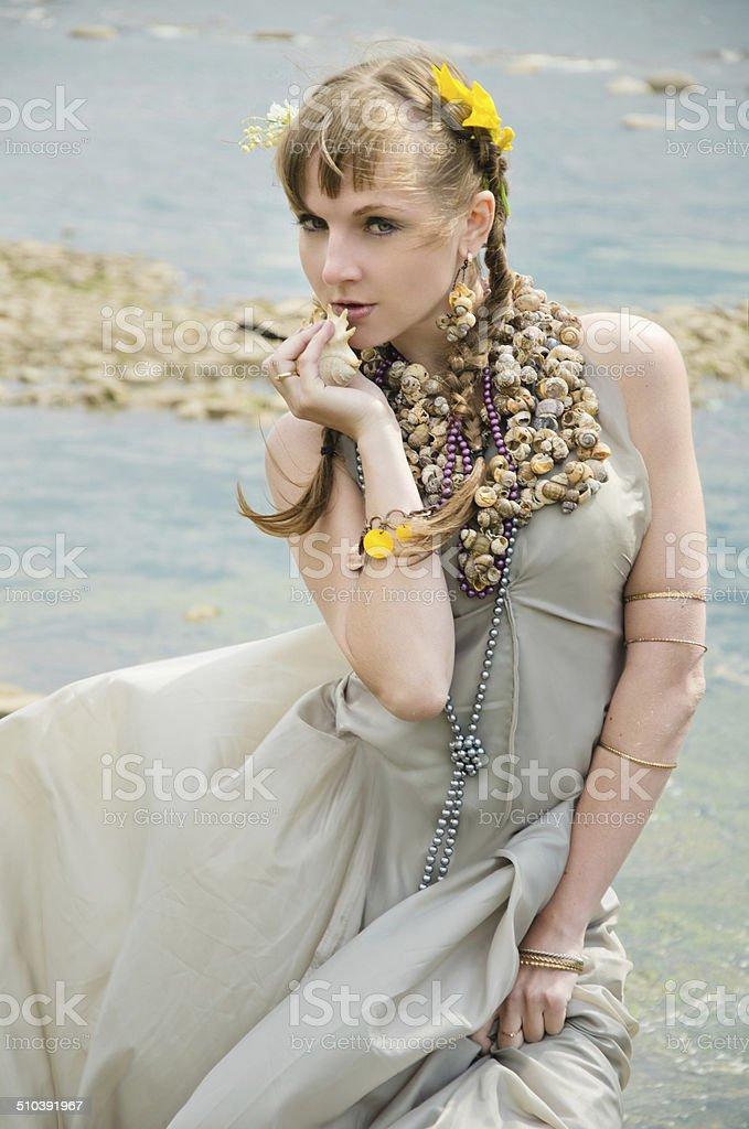 Sereia foto de stock royalty-free