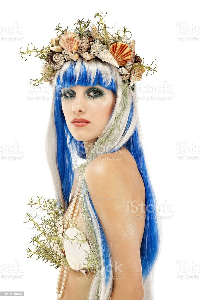Mermaid Portrait stock photo