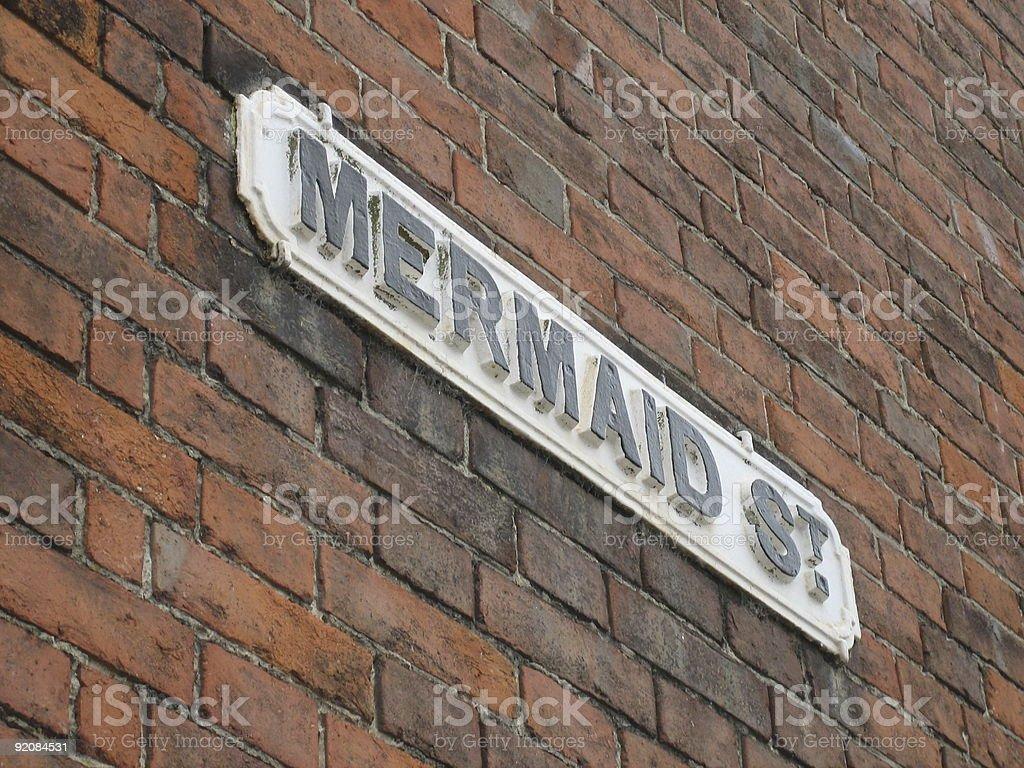 Mermaid Street, Rye, Sussex royalty-free stock photo