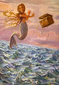 Mermaid telekinesis