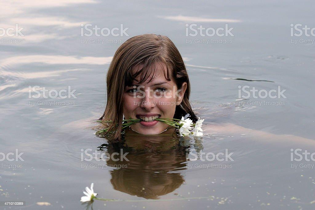 Mermaid-3 royalty-free stock photo