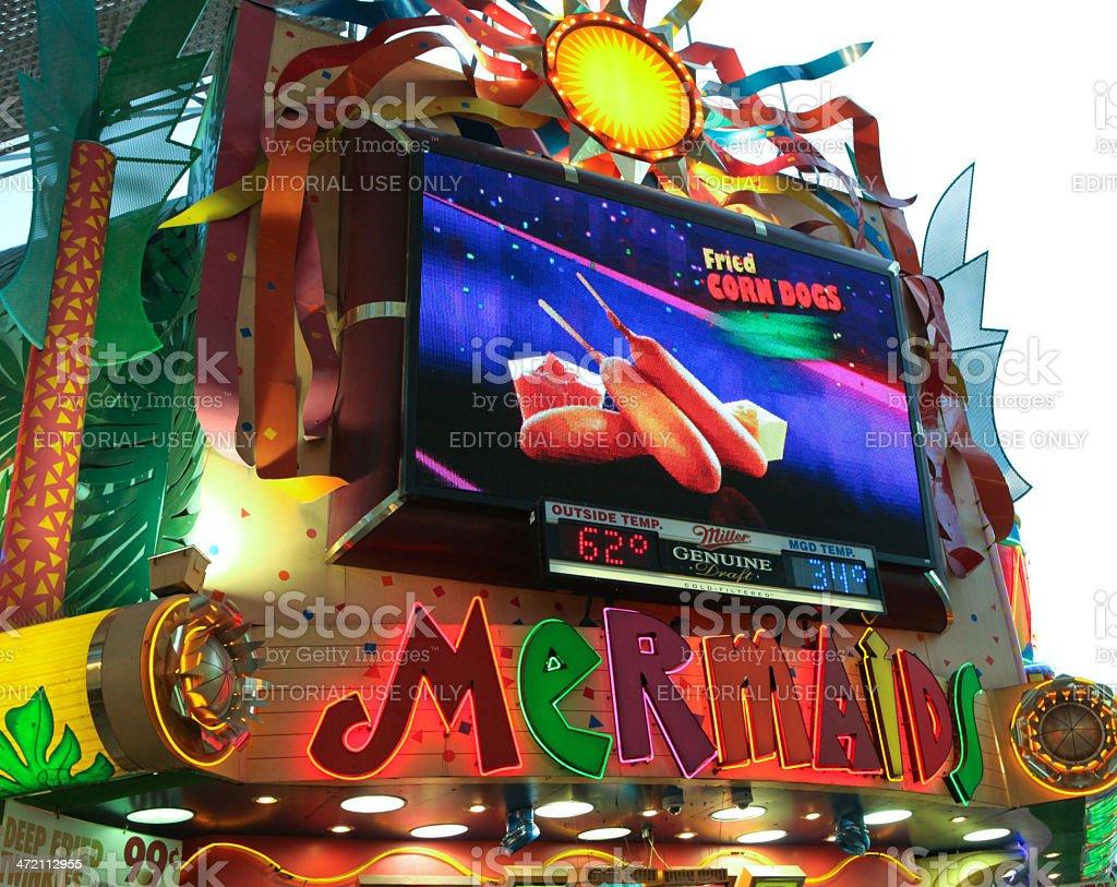 Mermaids Las Vegas stock photo