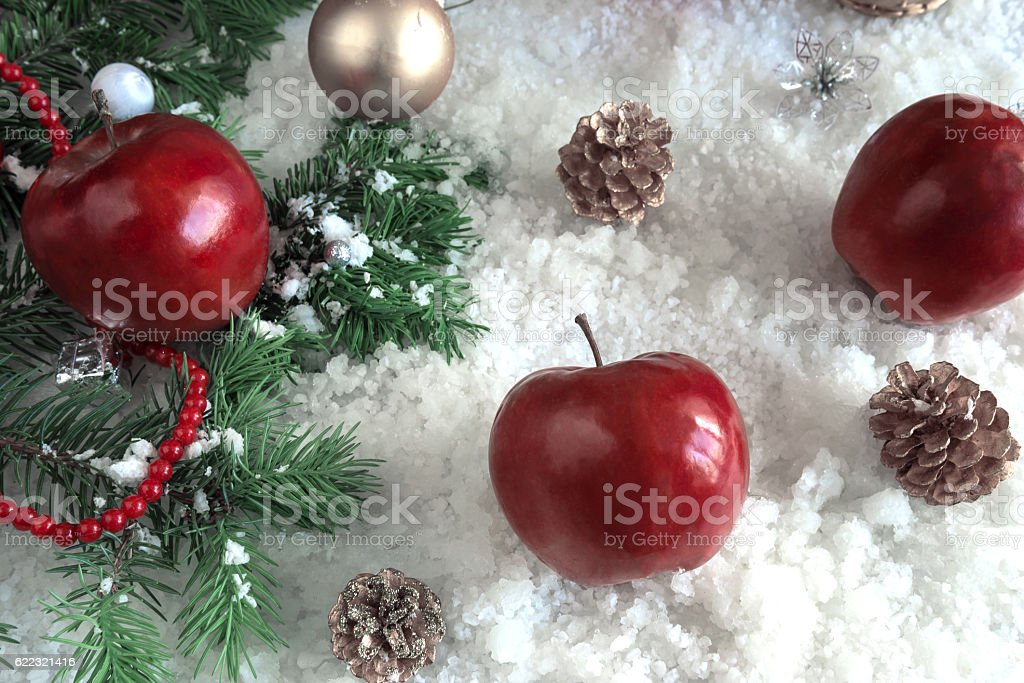 Merry Christmas and New Year stock photo