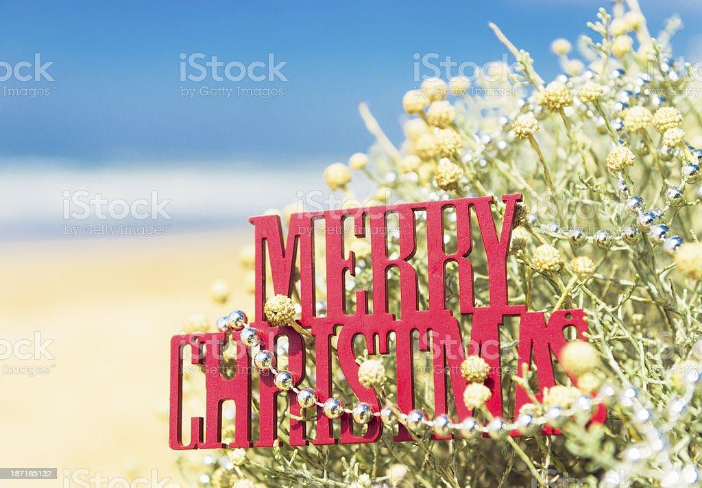 Merry Christmas Australia! stock photo