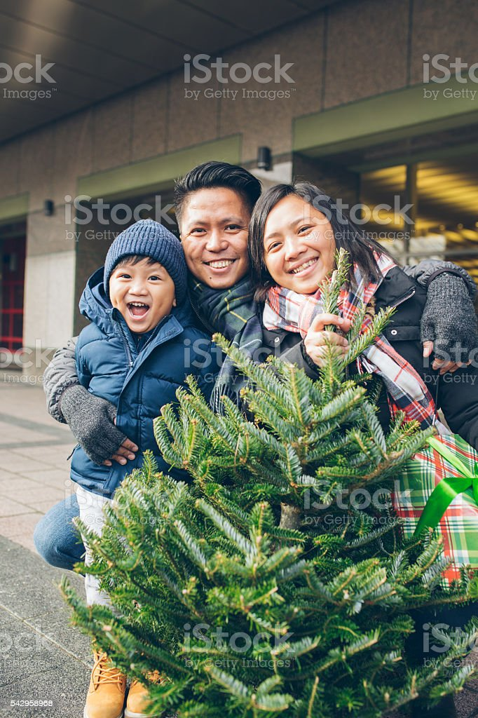 Merry Christmas from our family stock photo