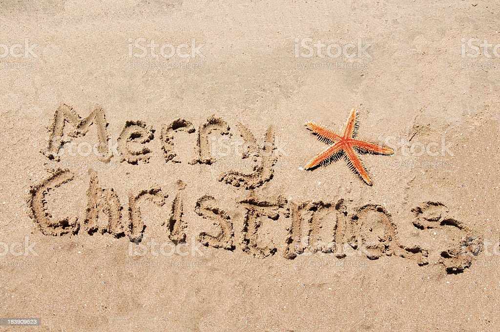 Merry Christmas letters royalty-free stock photo