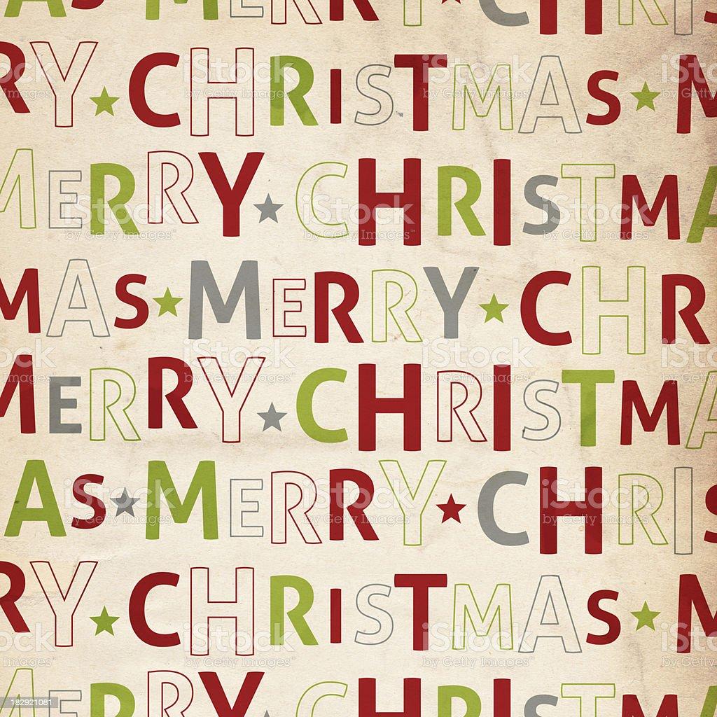 Merry Christmas Paper - XXXL royalty-free stock photo