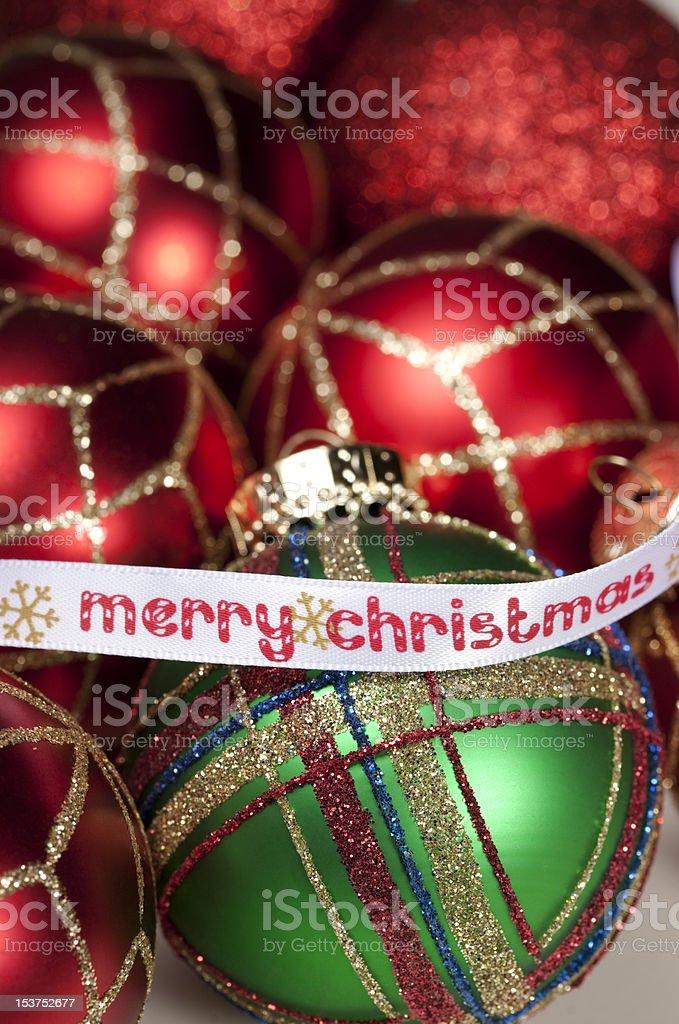 'Merry Christmas' stock photo