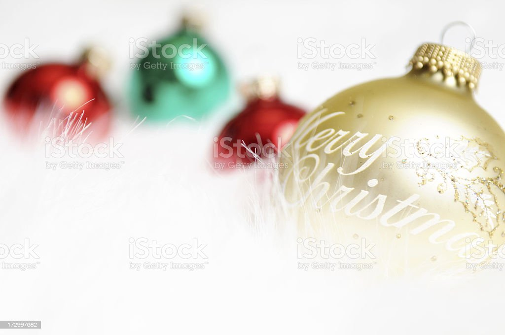 Merry Christmas (XL) royalty-free stock photo