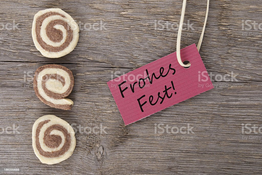 Frohes Fest royalty-free stock photo