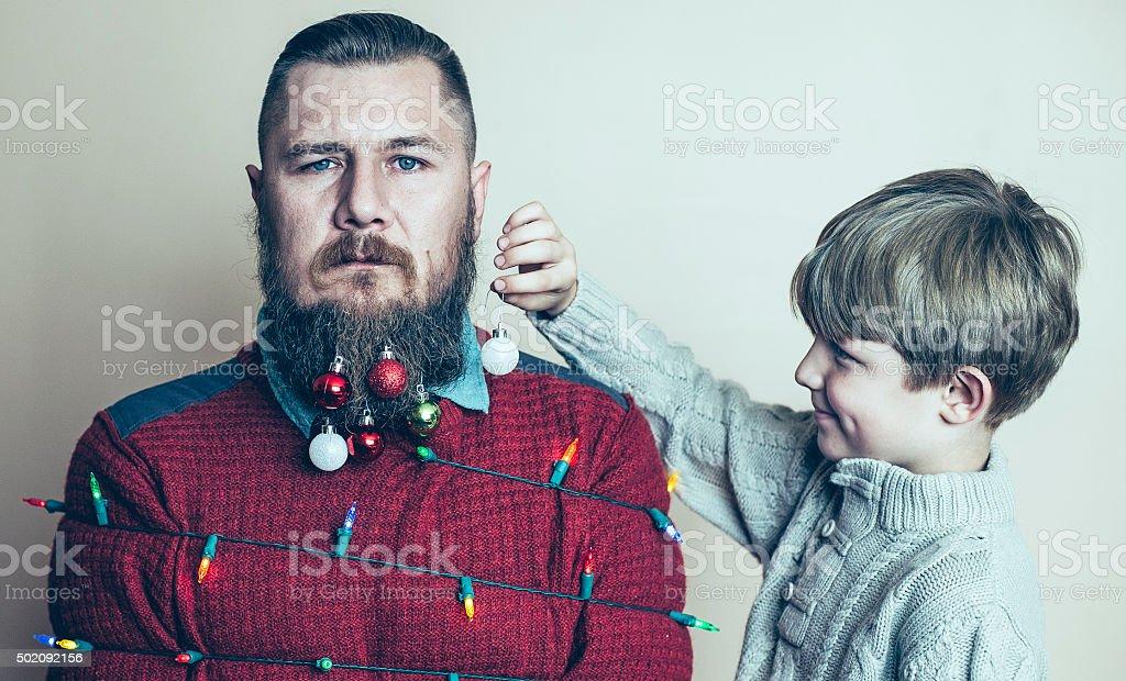Merry Christmas. stock photo