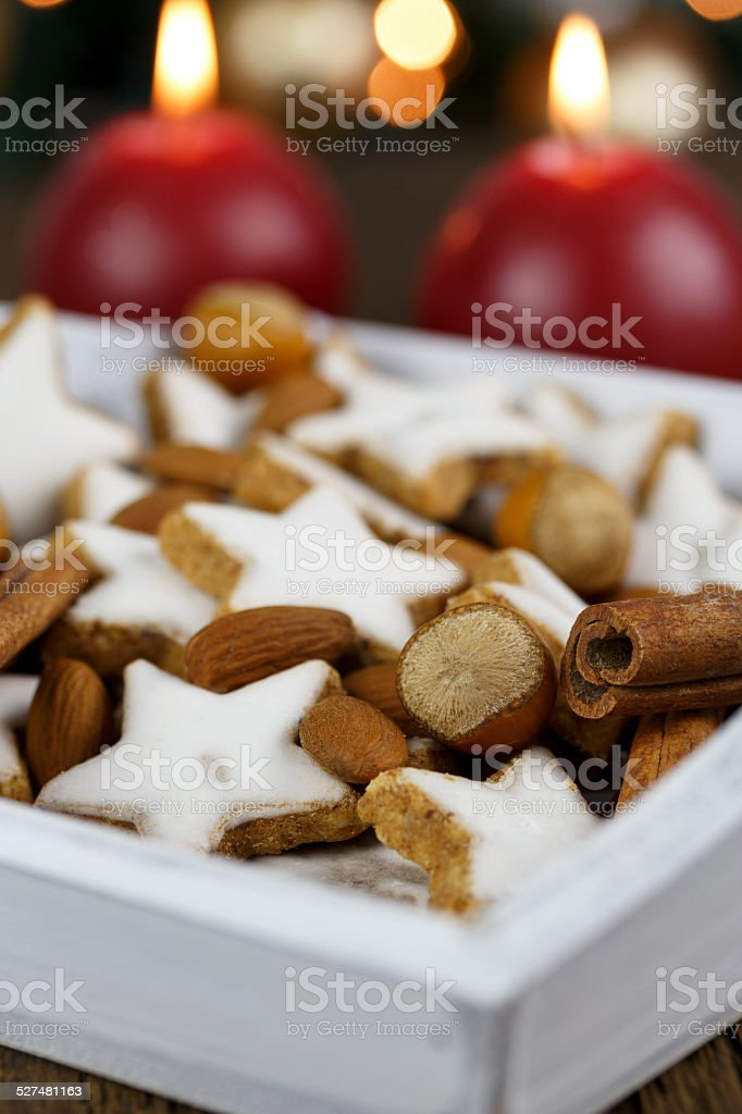 frohe Weihnachten stock photo