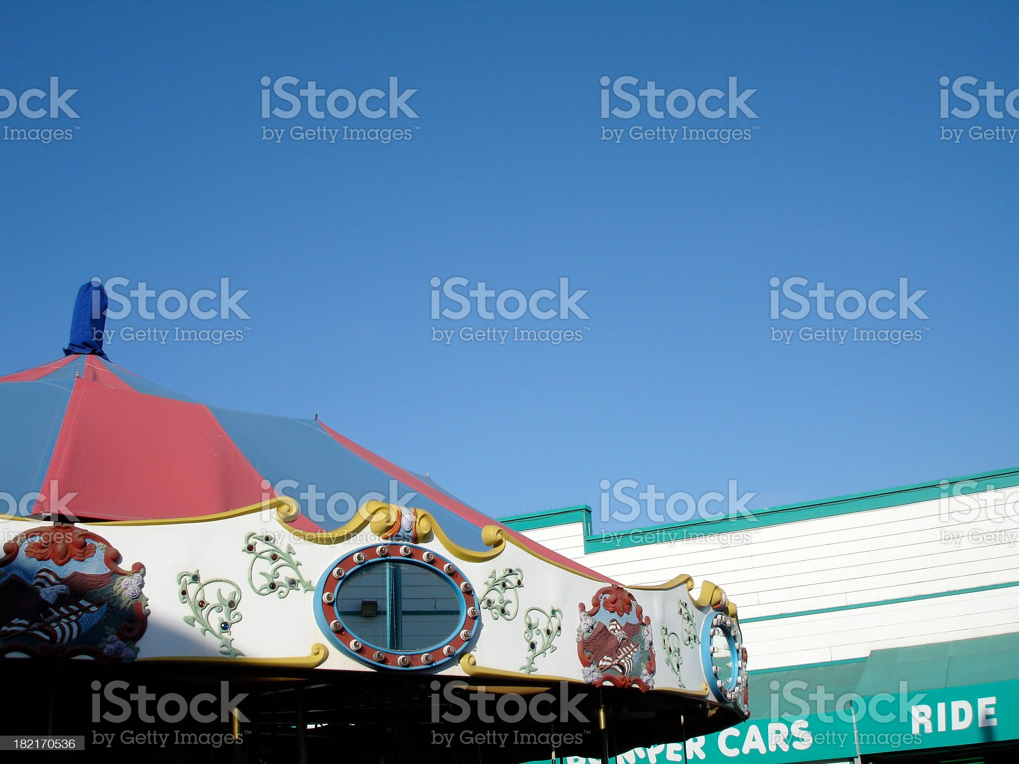 Merry Go Round and More royalty-free stock photo