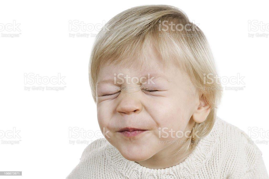 merry little boy royalty-free stock photo