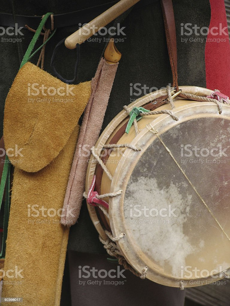Merry Minstrel's Music Makers stock photo