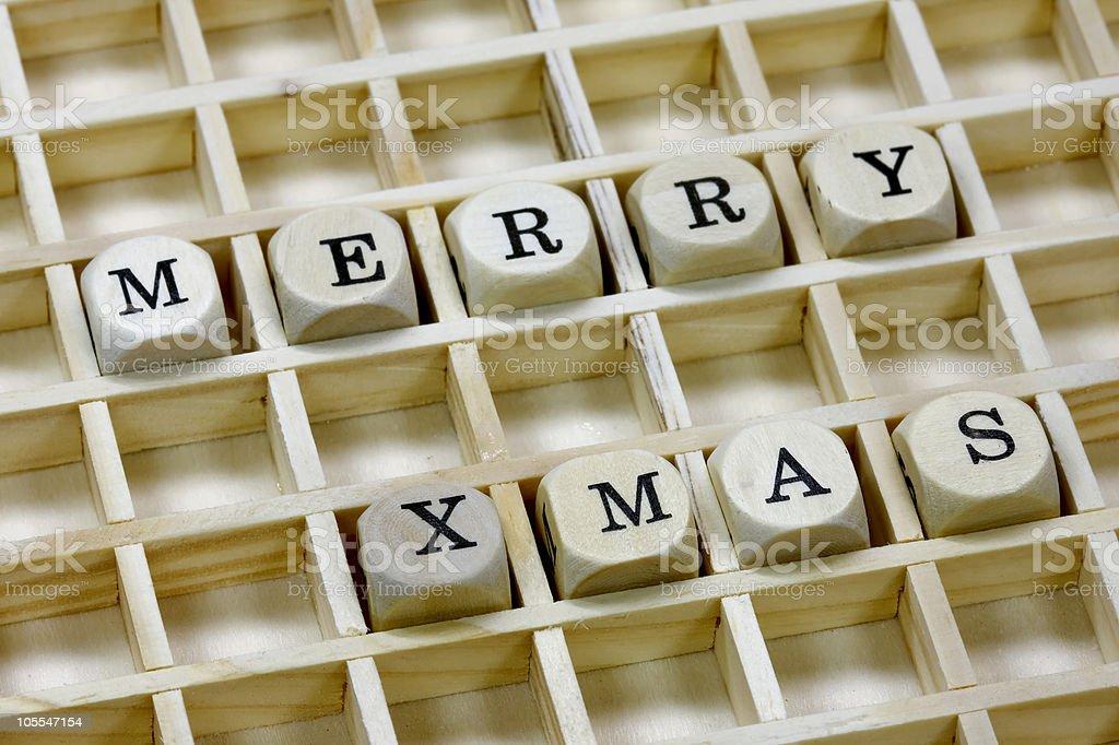 Merry Xmas royalty-free stock photo