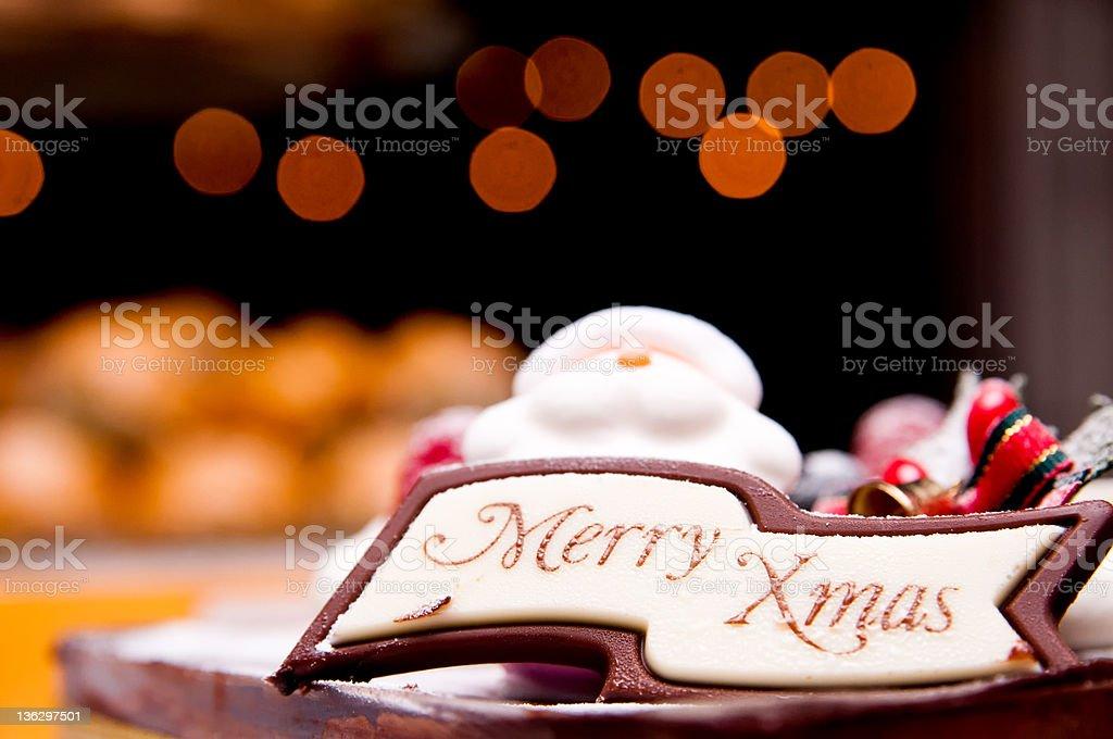 Merry Xmas stock photo