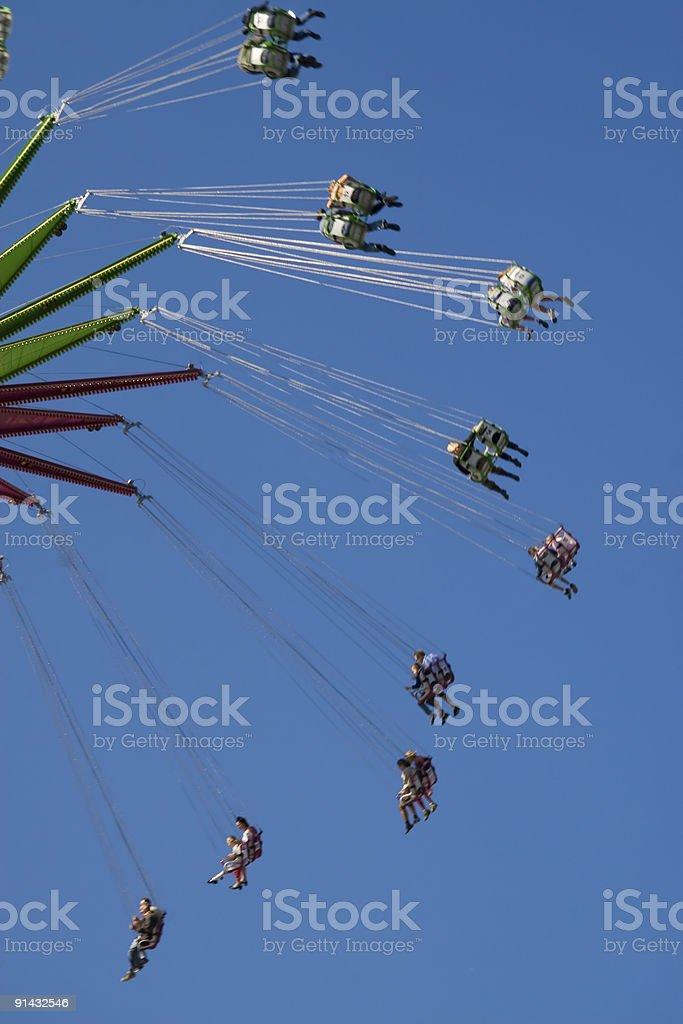 Merry-go-round royalty-free stock photo