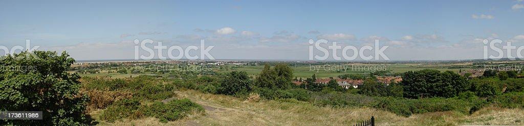 Merseyside Panorama royalty-free stock photo